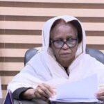 استقالة عائشة موسى عضو مجلس السيادة السوداني