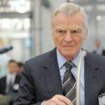 وفاة ماكس موسلي رئيس الاتحاد الدولي للسيارات السابق