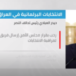 العراق.. تحالف النصر يرحب بالإشراف الأممي على الانتخابات