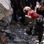 الهلال الأحمر الفلسطيني: تعاملنا مع 909 إصابات في غزة والقدس