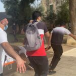 تجدد الاشتباكات بين الفلسطينيين وقوات الاحتلال في  باب العامود