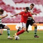 بنفيكا يفوز على سبورتنج لشبونة ويفسد احتفالاته بلقب الدوري