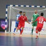 مصر تفوز على البحرين في البطولة العربية للصالات