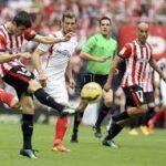 أتلتيك بيلباو يفوز على إشبيلية بهدف قاتل في الدوري الإسباني