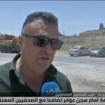 نقيب الصحفيين الفلسطينيين يطالب بالإفراج عن المعتقلين بسجون الاحتلال