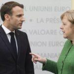 ماكرون وميركل يتعهدان بالتعاون الوثيق حتى تتشكل الحكومة الألمانية الجديدة
