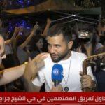 فنان فلسطيني يوجه رسالة من حي الشيخ جراح بالقدس