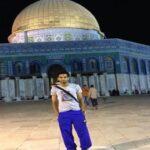 صلاح يتضامن مع الشعب الفلسطيني وينشر صوره له من القدس
