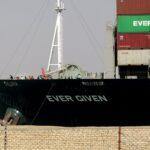 اتفاق مبدئي لحل نزاع السفينة إيفر جيفن المحتجزة بقناة السويس
