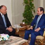 وزير الخارجية المصري يحمل رسالة من السيسي لأمير قطر