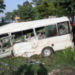 مقتل امرأة وإصابة 17 آخرين في انفجار حافلة بروسيا