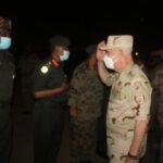 رئيس الأركان المصري يصل السودان قادما من الكونغو