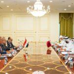 بدء المباحثات بين وزيري خارجية مصر وقطر في الدوحة