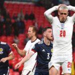 إنجلترا تتعثر بعد التعادل مع أسكتلندا في