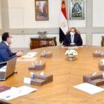 الرئيس المصري يوجه بالتوسع في مراكز تقديم لقاحات كورونا