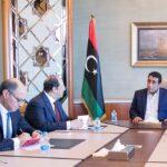«المنفي» يوجه الدعوة لـ«السيسي» لزيارة ليبيا في أقرب وقت