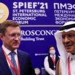 لقاء روسي سعودي ضمن منتدى سان بطرسبرج الاقتصادي