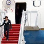 عطل في طائرة نائبة الرئيس الأمريكي قبل أول زيارة خارجية