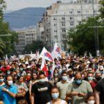 آلاف اليونانيين يحتجون على مشروع إصلاح قانون العمل