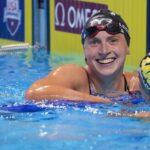 ليديكي تتألق في التجارب الأمريكية للسباحة المؤهلة للأولمبياد