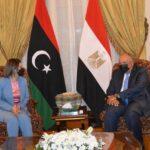 شكري: مصر على أتم الاستعداد لدعم ليبيا وحكومتها