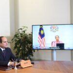 السيسي يبحث القضية الفلسطينية مع رئيس وزراء ماليزيا
