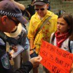 ناشطة أسترالية صغيرة تخطو بثبات في طريق مكافحة التغير المناخي