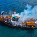 مخاوف من تسرب مواد كيميائية من سفينة غارقة في سريلانكا