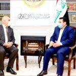 مستشار الأمن القومي العراقي يستقبل السفير الفلسطيني