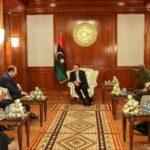 الدبيبة يتلقى دعوة رسمية لزيارة القاهرة