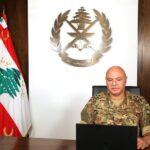 جوزيف عون: الجيش هو المؤسسة الوحيدة المتماسكة في لبنان