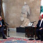 عون يبحث مع مسؤول أوروبي بارز الوضع في لبنان