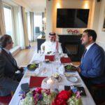 وزير الخارجية السعودي يبحث مع جروسي ملف البرنامج النووي الإيراني