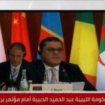الدبيبة يطالب المجتمع الدولي باحترام سيادة ليبيا