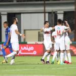 الزمالك يضرب أسوان بثلاثية في الدوري المصري