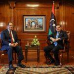 رئيس الحكومة الليبية يستقبل رئيس المخابرات المصرية