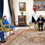 السيسي: استعادة سيادة ليبيا تبدأ بسحب القوات الأجنبية