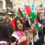 وقفة احتجاجية في نابلس للتضامن مع الأسرى المضربين عن الطعام