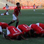 منتخب مصر يتغلب على الجزائر في كأس العرب للشباب