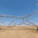 تفجير أبراج لنقل الكهرباء في ديالى شرق العراق