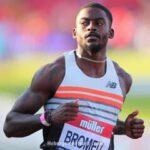 «القاتل الصامت».. برومل يطارد منافسيه في سباق 100 متر في طوكيو
