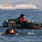 غرق مركب مهاجرين قبالة تركيا على متنه 45 شخصا