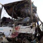 مصر.. إصابة 36 شخصًا في تصادم حافلتين غرب الإسكندرية