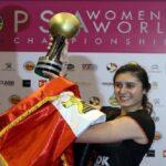 المصرية نور الشربيني تتأهل لنهائي بطولة العالم للاسكواش