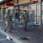 ارتفاع حصيلة العنف في جنوب أفريقيا إلى 72 قتيلا