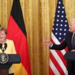خط أنابيب الغاز الروسي لألمانيا يتصدر مباحثات ميركل وبايدن