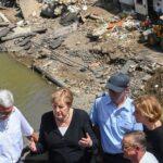 حداد في بلجيكا على ضحايا الفيضانات وميركل تزور المناطق المنكوبة