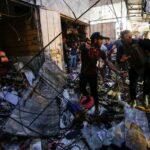 30 قتيلا في هجوم دامٍ بسوق في بغداد عشية الأضحى