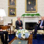 محادثات بين بايدن وعاهل الأردن حول قضايا الشرق الأوسط