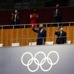 إمبراطور اليابان ناروهيتو يحضر حفل افتتاح أولمبياد طوكيو
